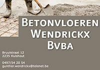 Betonvloeren Wendrickx